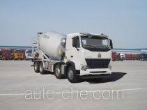 豪沃牌ZZ5317GJBN3667P1型混凝土搅拌运输车
