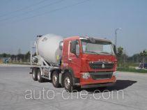 豪沃牌ZZ5317GJBV366HD1型混凝土搅拌运输车