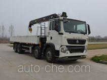 Sinotruk Howo ZZ5317JSQN466GE1 truck mounted loader crane