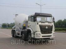 Sinotruk Hohan ZZ5325GJBN3063D1K concrete mixer truck