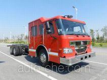 Sinotruk Howo ZZ5347TXFV5447E6 fire truck chassis