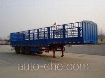 斯达-斯太尔牌ZZ9402CLX332型仓栅式运输半挂车