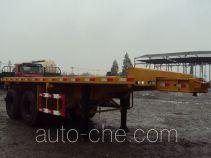 Zhongshang Auto ZZS9350ZZXP flatbed dump trailer