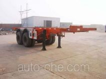 Zhongshang Auto ZZS9351TJZG container transport trailer