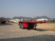 Zhongshang Auto ZZS9352P flatbed trailer