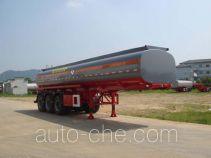 Zhongshang Auto ZZS9407GHY chemical liquid tank trailer