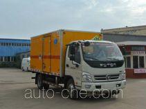 Xier ZZT5080XZW-5 автофургон для перевозки опасных грузов