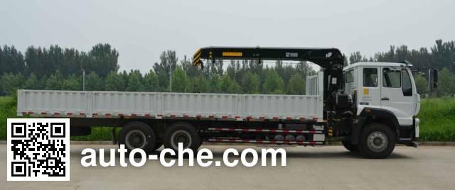 Sinotruk Hiab AB5250JSQ truck mounted loader crane