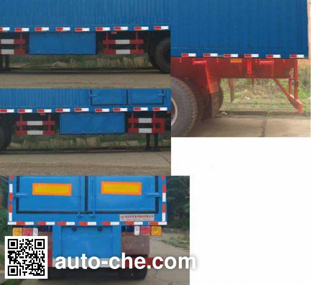 Huaxia AC9190XXY box body van trailer