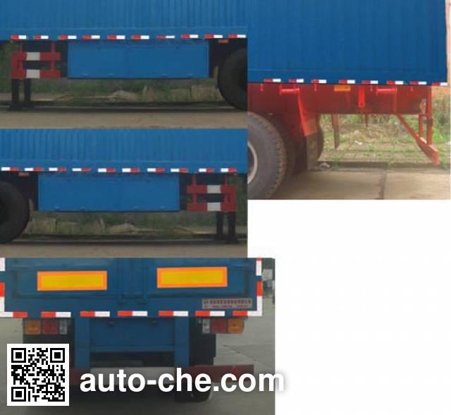 Huaxia AC9390XXY box body van trailer
