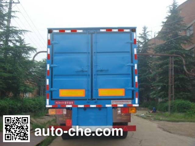 Huaxia AC9400XXY box body van trailer