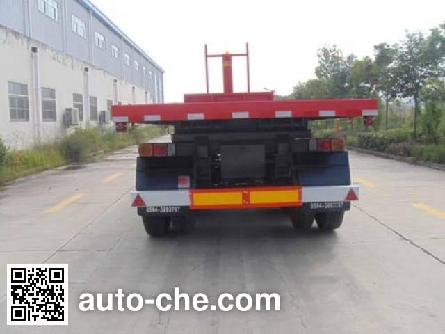 Huaxia AC9400ZZXP flatbed dump trailer