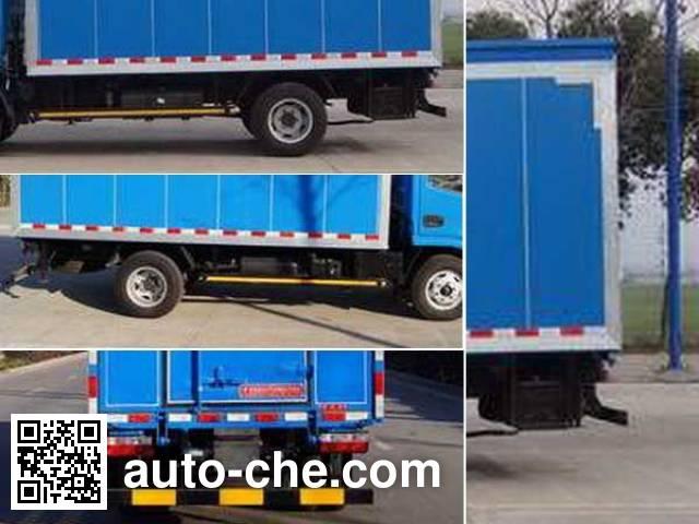 Dongzheng ADZ5041XWTS42 mobile stage van truck