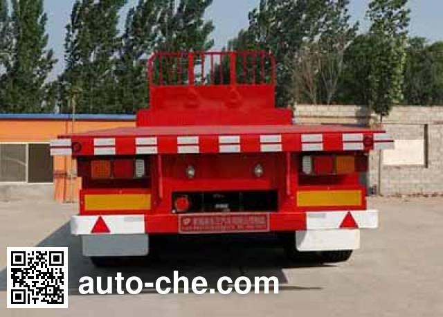 Dongzheng ADZ9400TPB flatbed trailer