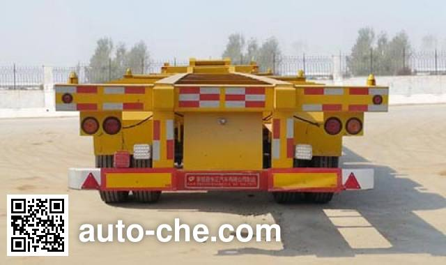 Dongzheng ADZ9402TJZ container transport trailer