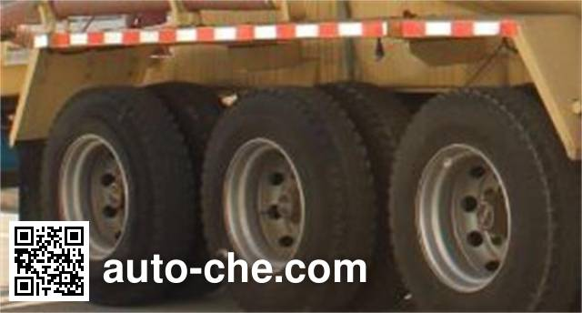 CAMC AH9402GFL8 low-density bulk powder transport trailer
