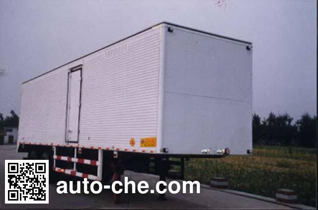 Kaile AKL9234XXY box body van trailer