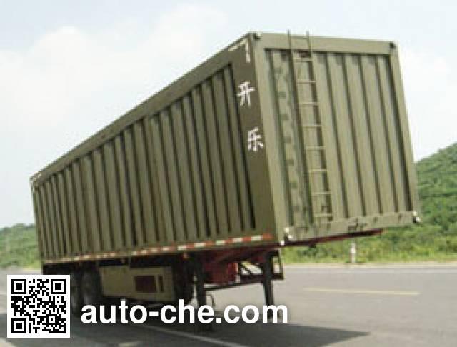 Kaile AKL9341XXY box body van trailer