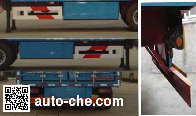 Kaile AKL9390XXY box body van trailer