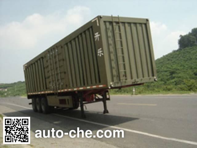 Kaile AKL9393XXY box body van trailer