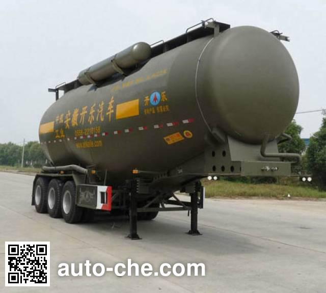 开乐牌AKL9400GFLA1中密度粉粒物料运输半挂车