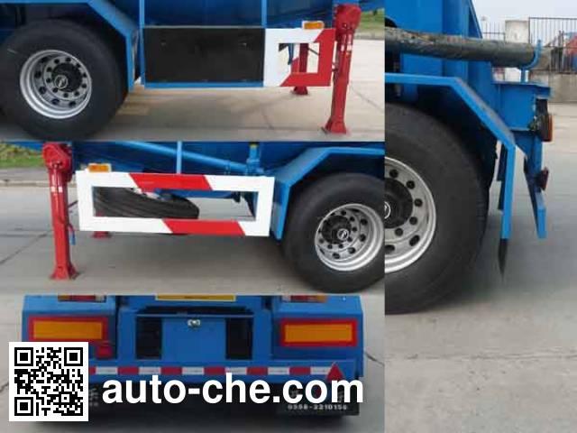 Kaile AKL9400GFLA6 medium density bulk powder transport trailer