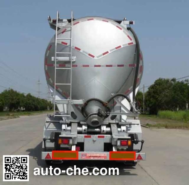 开乐牌AKL9400GFLA9铝合金中密度粉粒物料运输半挂车