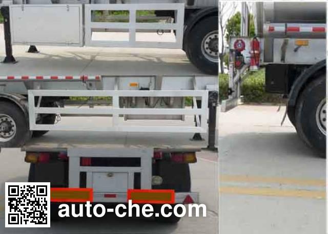 Kaile AKL9400GHYA chemical liquid tank trailer