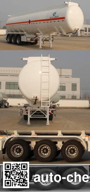 Kaile AKL9400GRYC flammable liquid tank trailer