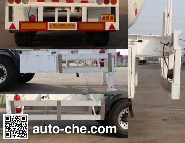 Kaile AKL9400GRYD flammable liquid tank trailer
