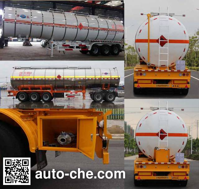 Kaile AKL9400GRYG flammable liquid tank trailer