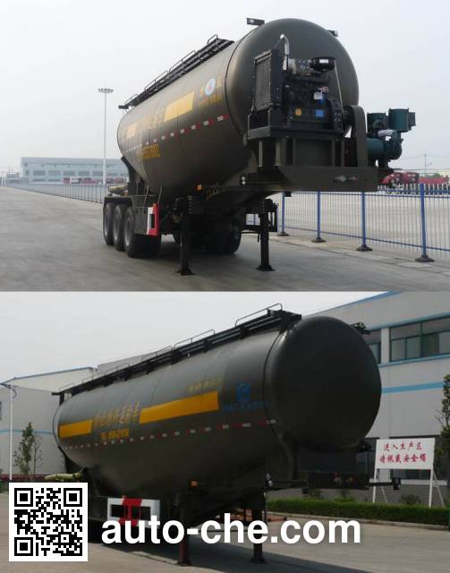 Kaile AKL9401GFLA3 low-density bulk powder transport trailer