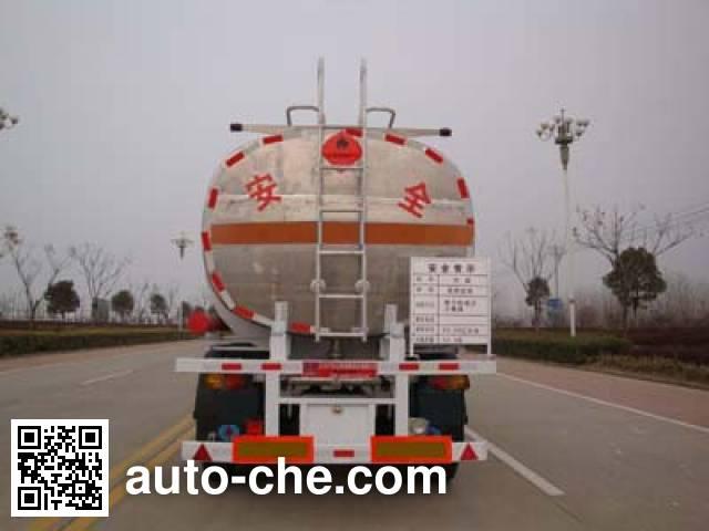 开乐牌AKL9401GHYB化工液体运输半挂车