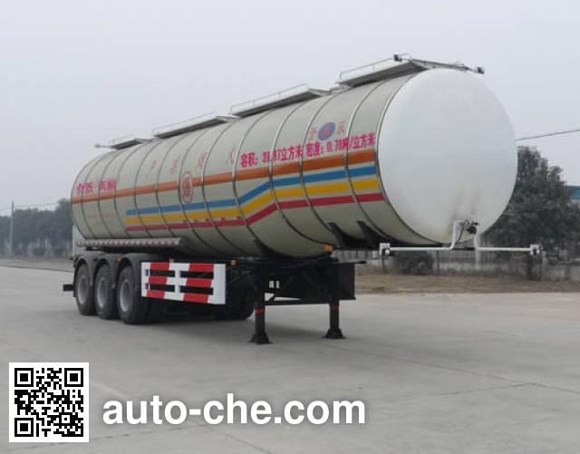 开乐牌AKL9403GHYA化工液体运输半挂车