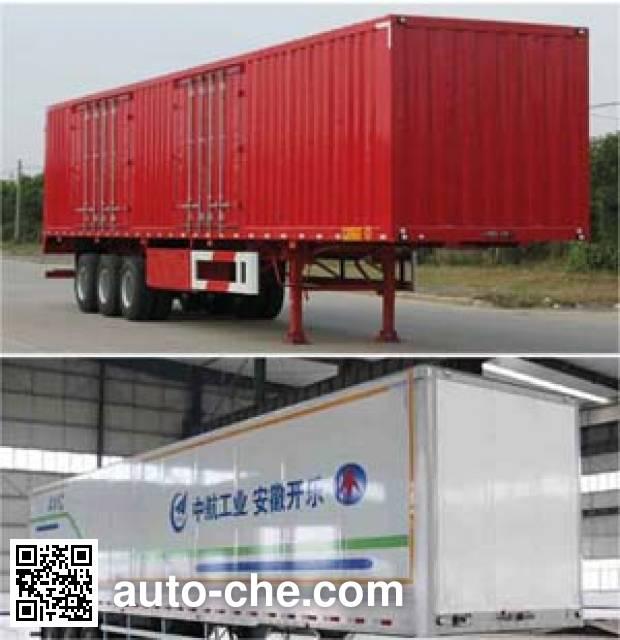 Kaile AKL9403XXY box body van trailer
