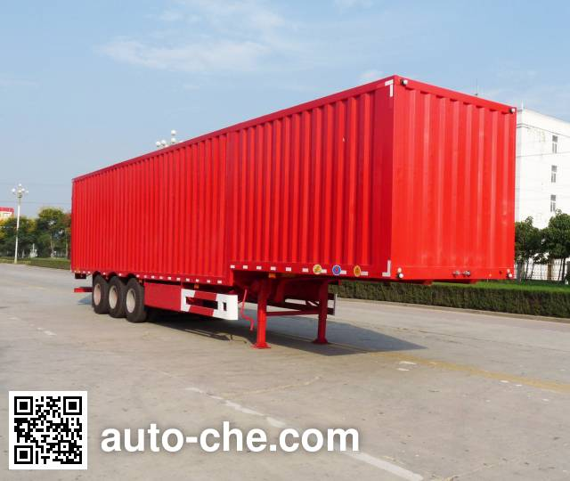 Kaile AKL9404XXY box body van trailer