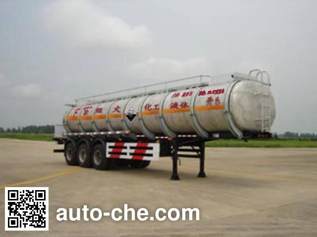 开乐牌AKL9405GHY化工液体运输半挂车