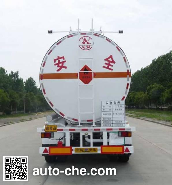 Kaile AKL9405GRY flammable liquid tank trailer