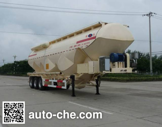 Kaile AKL9406GFL1 low-density bulk powder transport trailer