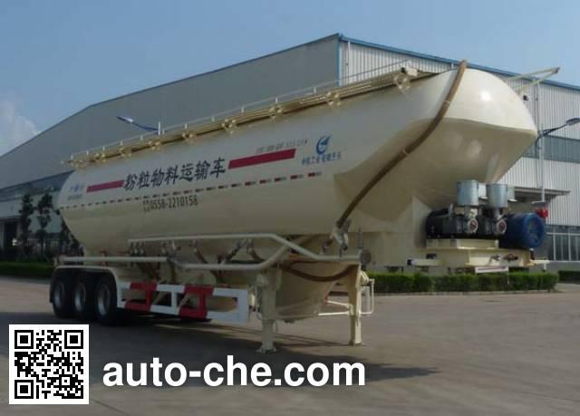 开乐牌AKL9406GFL2低密度粉粒物料运输半挂车
