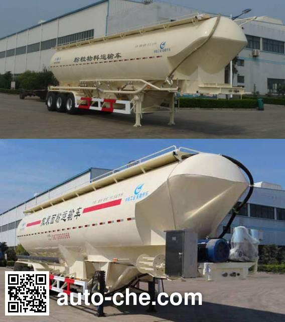 Kaile AKL9406GFL2 low-density bulk powder transport trailer