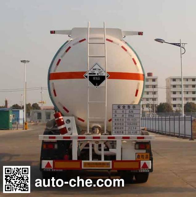 Kaile AKL9406GFW corrosive materials transport tank trailer