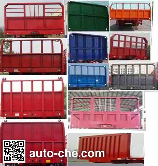 Kaile AKL9380ZZXP flatbed dump trailer