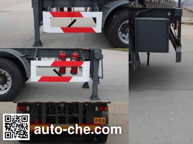 Kaile AKL9407GFW corrosive materials transport tank trailer