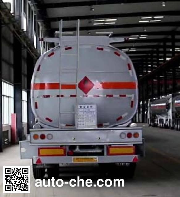 Kaile AKL9408GRY flammable liquid tank trailer