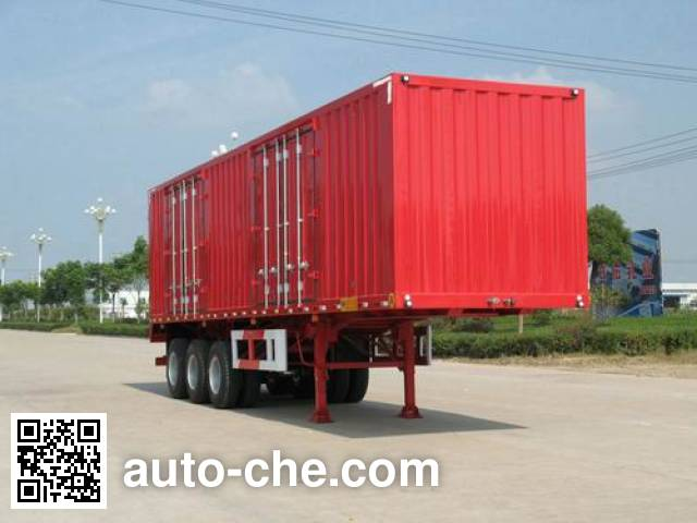 Kaile AKL9408XXY box body van trailer