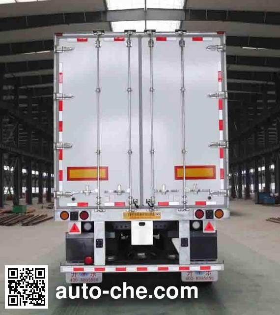 Kaile AKL9409XXY box body van trailer