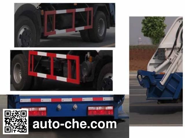 Jiulong ALA5071ZYSDFA4 garbage compactor truck