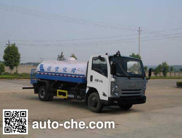 Jiulong ALA5080GPSJX5 sprinkler / sprayer truck