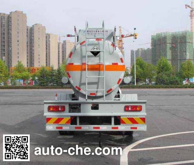 Jiulong ALA5160GFWDFL4 corrosive substance transport tank truck